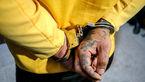 حمله به پلیس گلستان با اسپری فلفل / مرد چاقو به دست با شلیک پلیس دستگیر شد