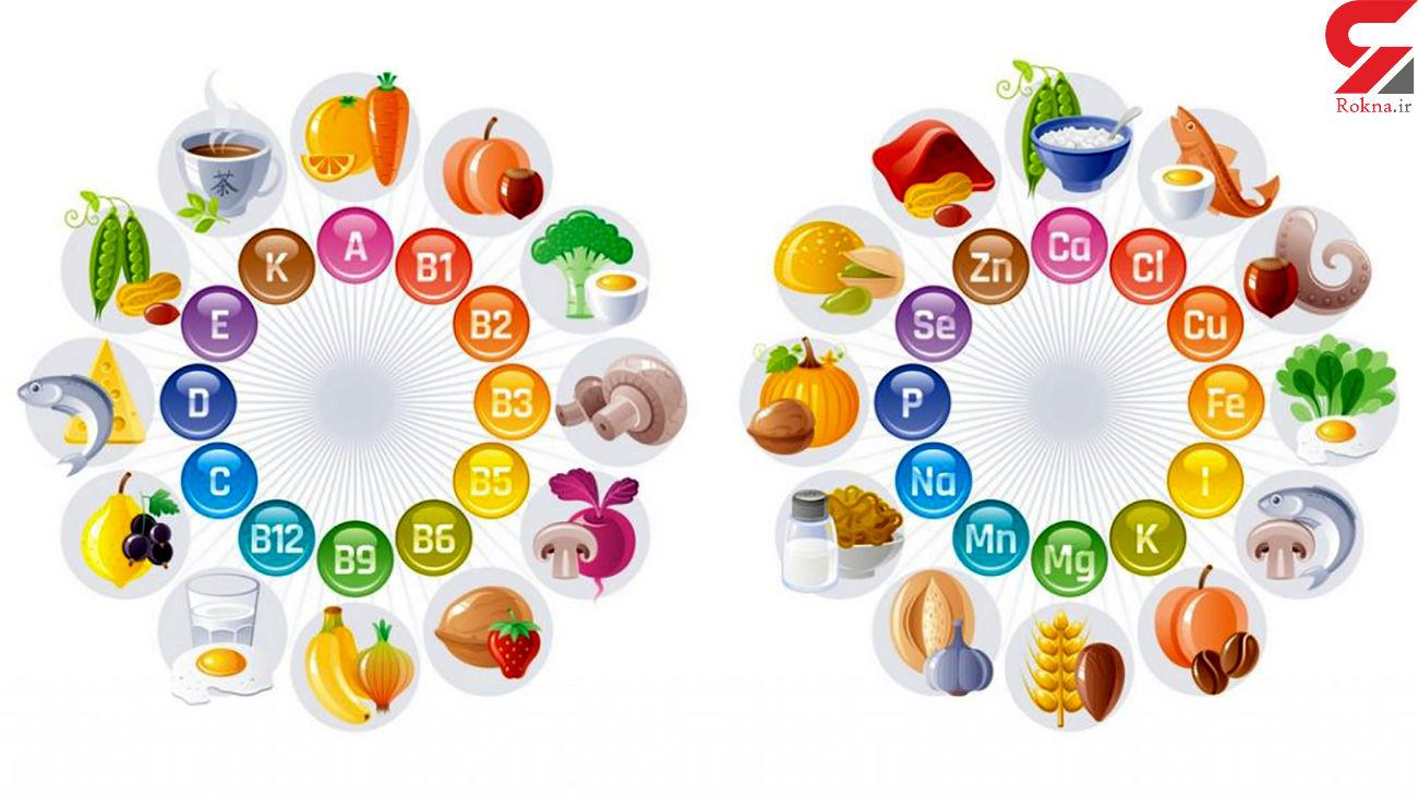 ویتامین های ضروری در برنامه غذایی