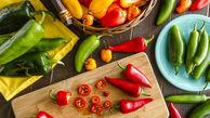 کاهش وزن با سبزی های خوشمزه