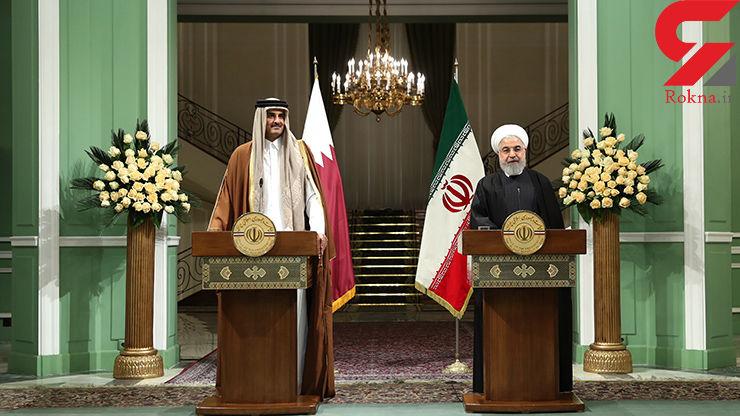 ایران در کنار قطر بوده و خواهد ماند/ تصمیمات مهمی برای گسترش روابط تهران – دوحه اتخاذ شد