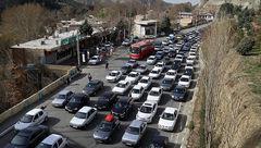 ترافیک روان در جادههای بارانی مازندران