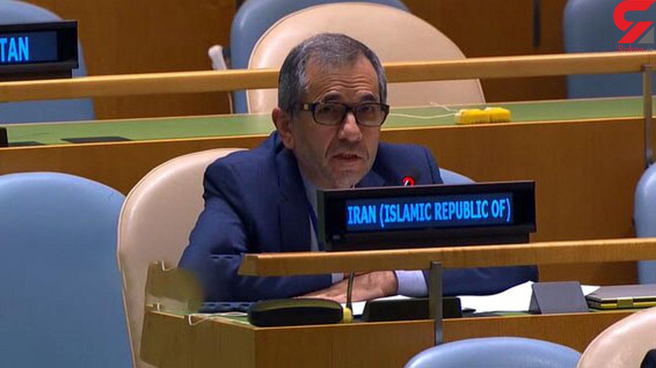 Sanctions violating inherent human rights: Iran UN envoy
