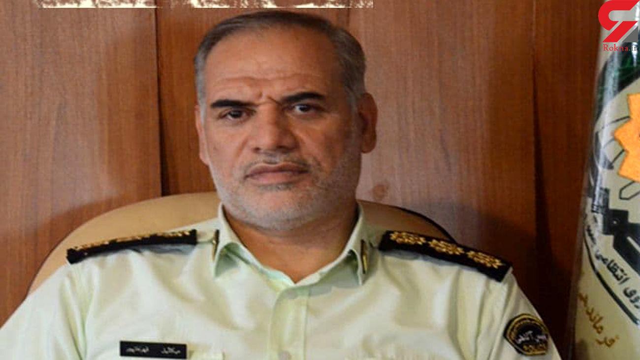 دستگیری سارقان کابل برق وکشف 15 فقره سرقت در قم