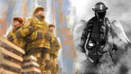 لحظه به لحظه گرفتار شدن آتش نشانان از زبان دوستانشان در عملیات پلاسکو+عکس