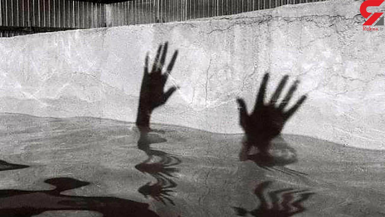 خودکشی یا حادثه / کشف جنازه دختری که به کمرش سنگ بسته بود + عکس