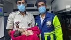 تولد نوزاد ختر آمبولانسی / در هرمزگان رخ داد + عکس