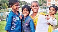 اقدام جنجالی یک زن هندی برای فرار از گرسنگی + عکس
