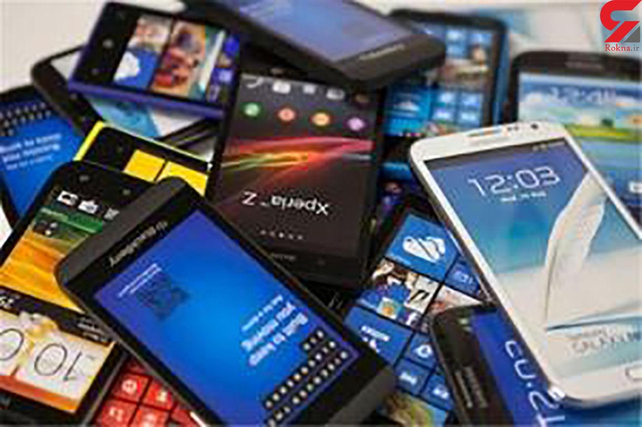 کشف تلفن همراه و لوازم جانبی قاچاق در شیراز