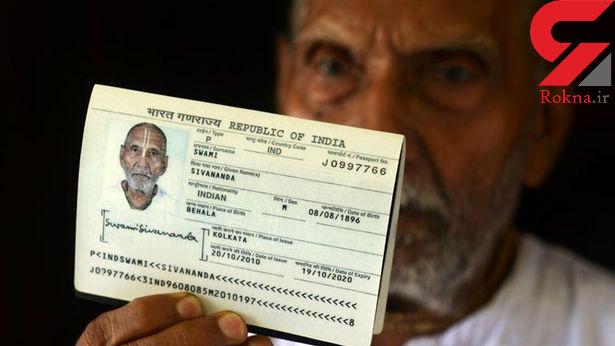 سن پیرترین مرد جهان کارکنان فرودگاه ابوظبی را شگفت زده کرد+عکس
