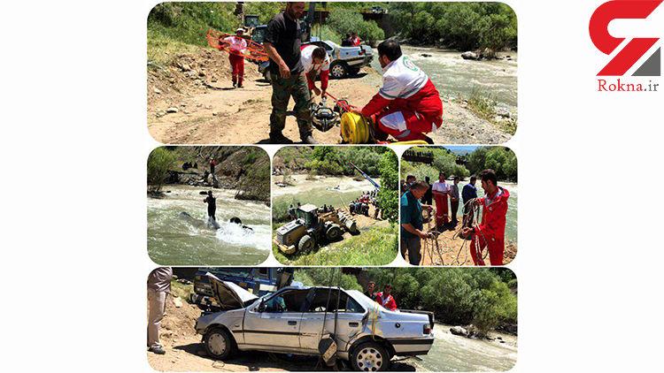 حادثه فاجعه بار در مریوان 4 قربانی گرفت+ تصاویر