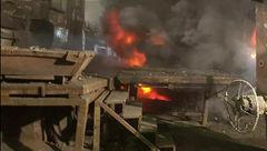 جدیدترین جزئیات از آتشسوزی در شهر صنعتی کاوه ساوه+عکس