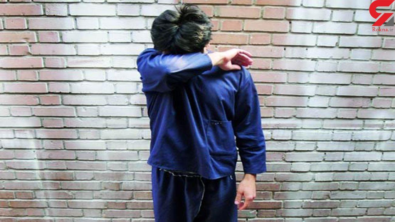 دستگیری دزد مزدا سوار در تعقیب و گریز پلیسی