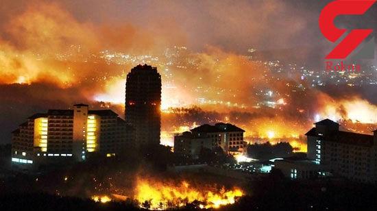 کمسابقهترین آتشسوزی در تاریخ کرهجنوبی +عکس