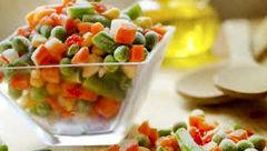 فواید سبزیجات منجمد شده!