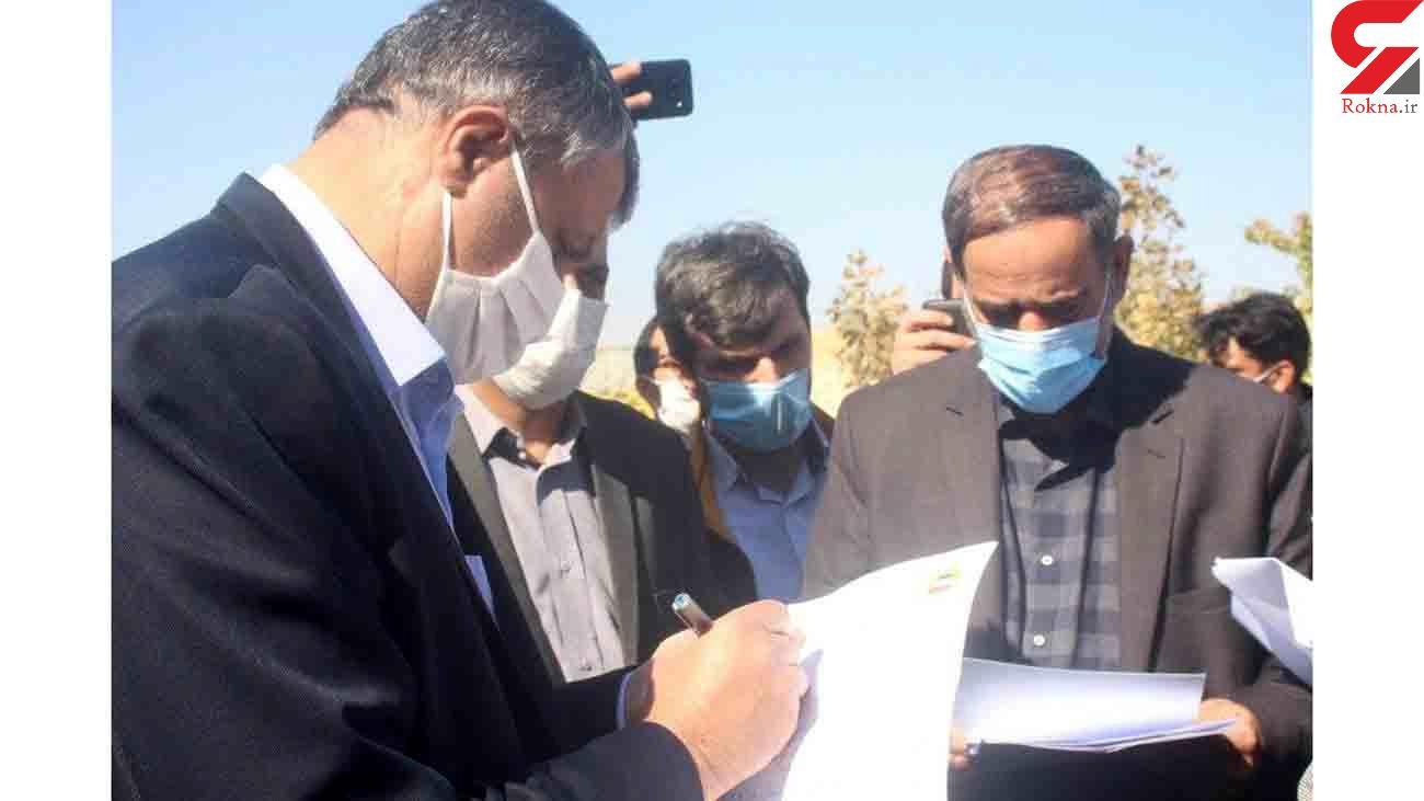 حضور وزیر مسکن راه وشهرسازی در شهرستان های بوئین زهرا و آوج