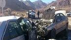 تصادف مرگبار خودروی سرویس معلمان در مسیر قروه - دلبران