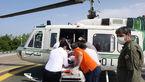 حساسیت شدید زن رشتی به واکسن کرونا! /هلیکوپتر به دادش رسید