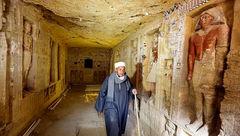کشف مقبره کشیش مصر باستان با قدمت بیش از 4 هزار سال + عکس