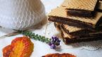 شیرینی میکادو با طعم موز و آناناس+دستور پخت در خانه