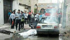عکس / صحنه ای وحشتناک از آتش زدن زن اهوازی و خودکشی شوهرش / اختصاصی