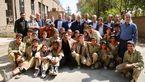 سردار سلیمانی «23 نفر» را کلید زد + تصاویر