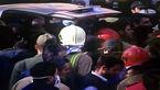 فوری/ نفس ها برای بیرون کشیدن هشتمین پیکر آتش نشان شهید در سینه حبس شد