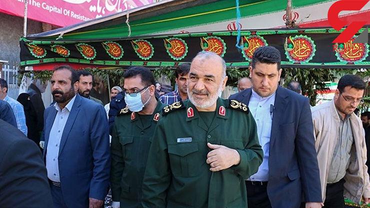 دستور فرماندهکل سپاه برای گسیل فوری امکانات و ظرفیتهای سپاه به مناطق سیلزده