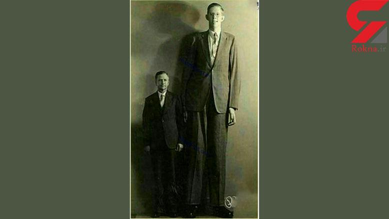 قد این مرد در دنیا رقیب ندارد + عکس