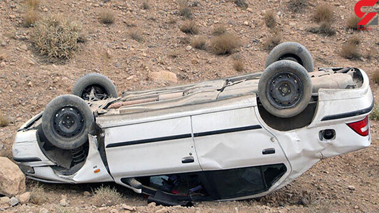 واژگونی خودرود در جاده مراغه – هشترود یک کشته بر جا گذاشت