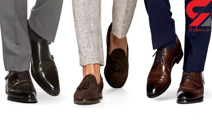 قوانین ست کردن رنگ کفش با کت و شلوار/مردان بخوانند و جذاب تر شوند!