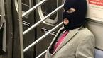 تصاویر باورنکردنی از مسافران عجیب در مترو!