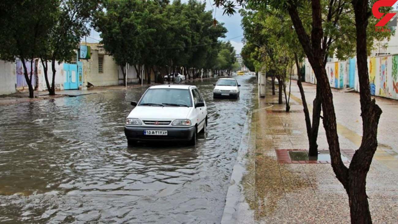 هشدار سازمان هواشناسی به 11 استان کشور/ احتمال طغیان رودخانه ها و آب گرفتگی معابر