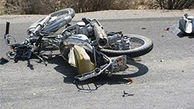 موتور سیکلت بلای جان پسر 13 ساله شد + عکس
