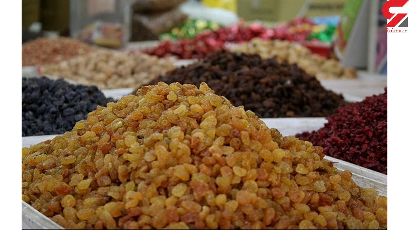 کشف و ضبط 300 کیلوگرم کشمش قاچاق در مهران