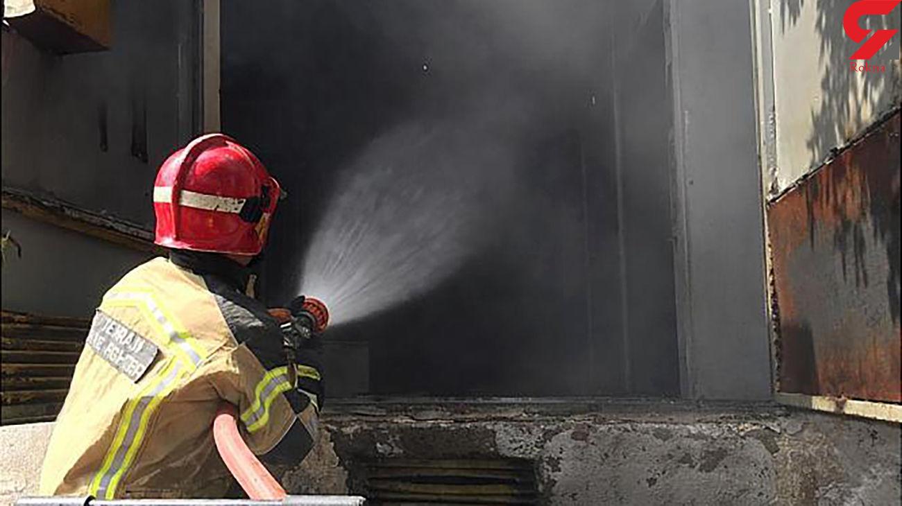آتش سوزی در پست برق فشار قوی جنوب تهران + عکس ها