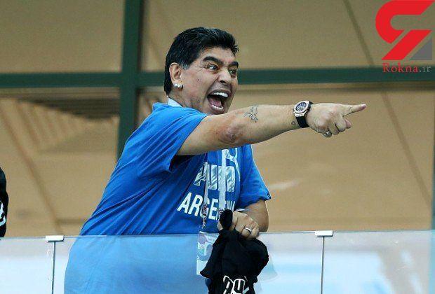 حمله سنگین مارادونا به دولت و فدراسیون فوتبال آرژانتین بخاطر یک فینال جنجالی