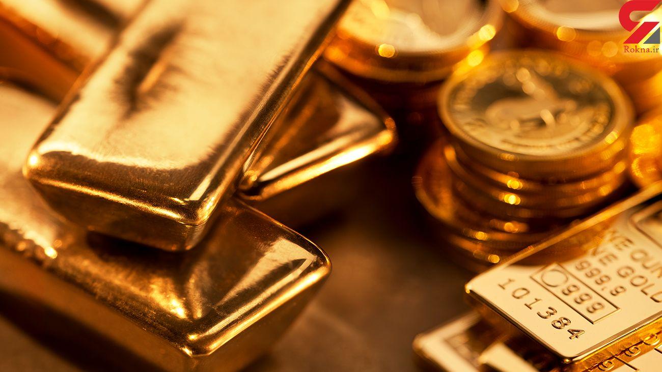 قیمت جهانی طلا امروز جمعه 21 شهریور 99