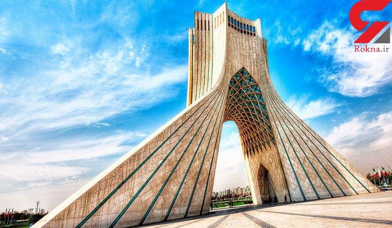 نماد تهران نم کشید / برج آزادی فرو می ریزد؟ +عکس