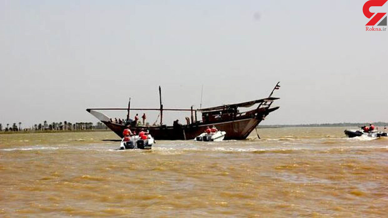 شناور صیادی حامل ارز قاچاق در آبادان توقیف شد