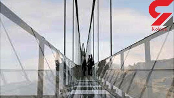 """افتتاح پل معلق شیشهای قوسی شکل در """"هیر"""" مشگینشهر طی سال آینده"""