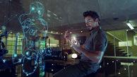 تحقق رویای نمایشگر معلق سه بعدی تونی استارک  + فیلم
