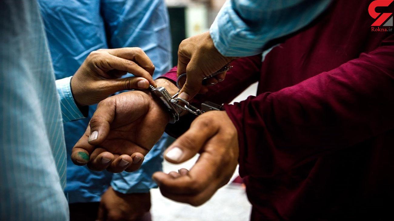 بازداشت سارقان لوازم خودرو در جامی