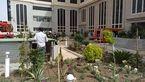 آتش سوزی بزرگ در بیمارستان میلاد