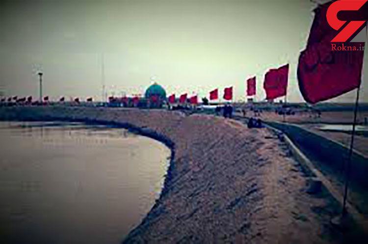تصادف اتوبوس حامل زائران ایرانی در شلمچهی عراق