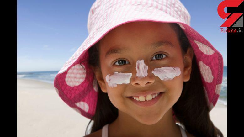 کرم ضد آفتاب را در زمستان از یاد نبرید
