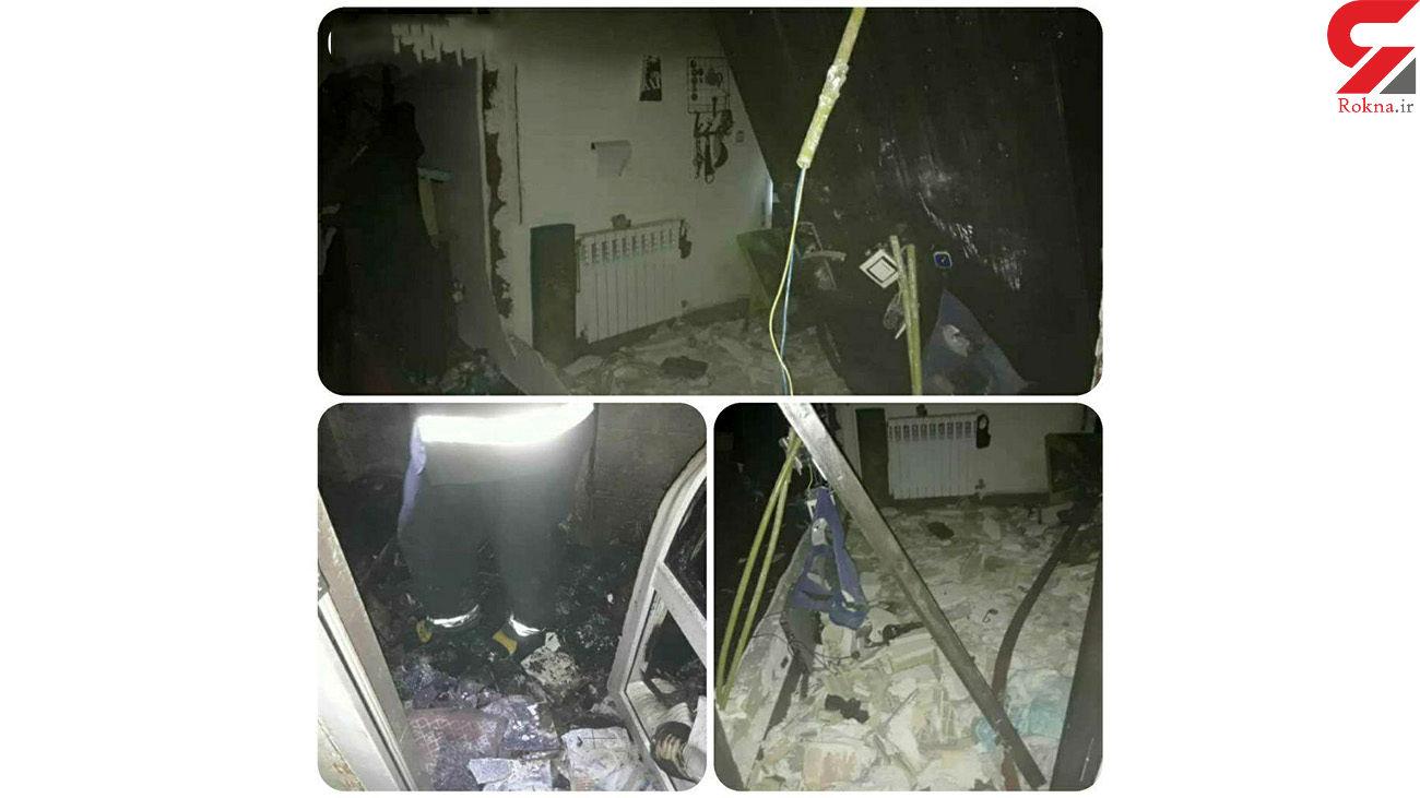 انفجار خانه مسکونی در زاهدان 4 نفر را مصدوم کرد + عکس