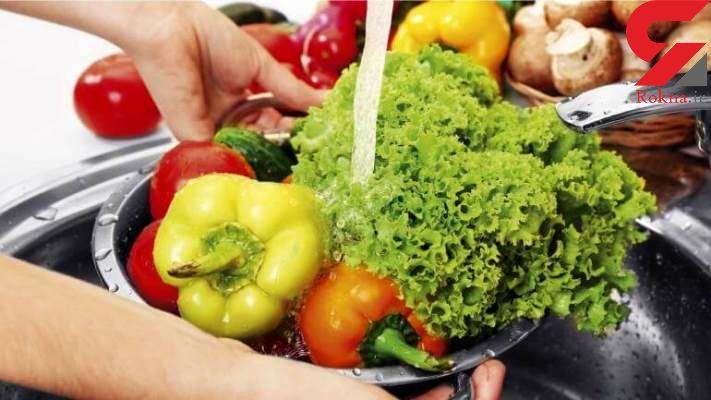 بهترین ماده برای انگل زدایی سبزی و میوه