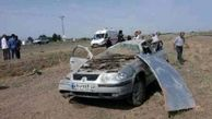یک کشته و سه مصدوم در اثر واژگونی خودرو در محور قم – گرمسار