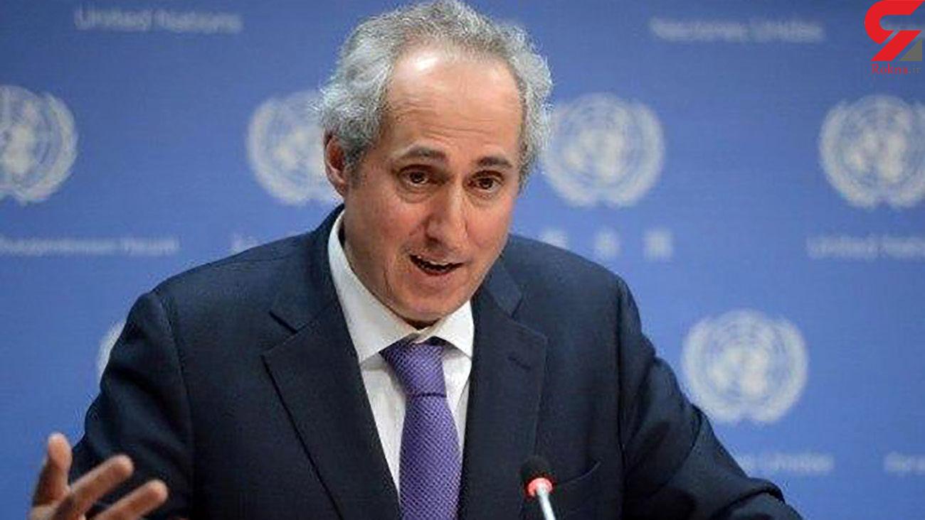 سخنگوی سازمان ملل : امنیت پروازهای غیرنظامی باید از طرف همگان رعایت شود