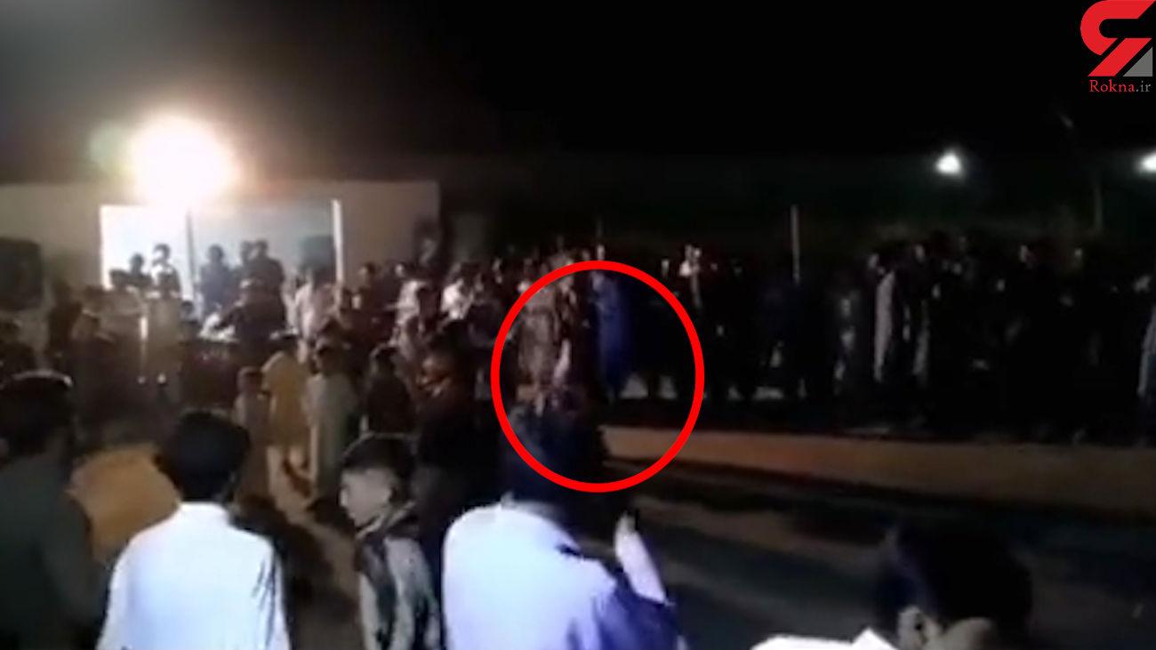 فیلم لحظه قتل جوان 23 ساله زاهدانی در جشن عروسی